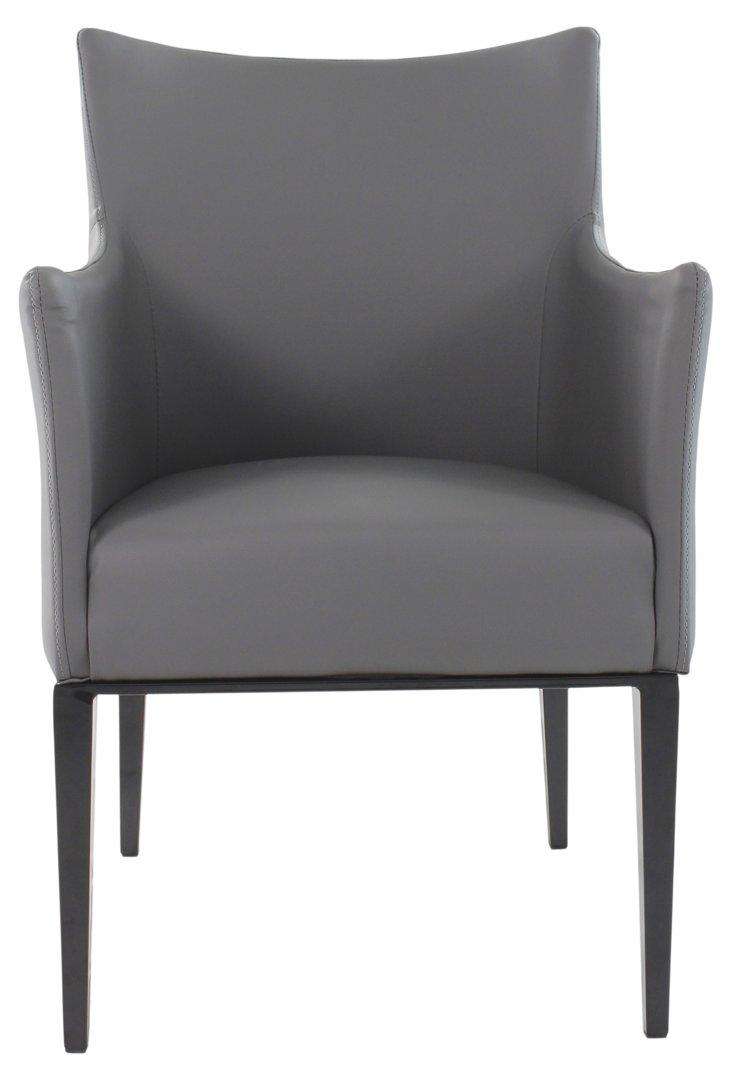 Renton Armchair, Dark Gray