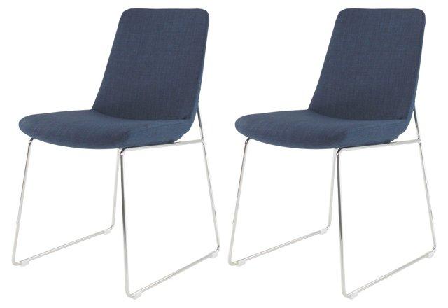Rita Dining Chairs, Pair