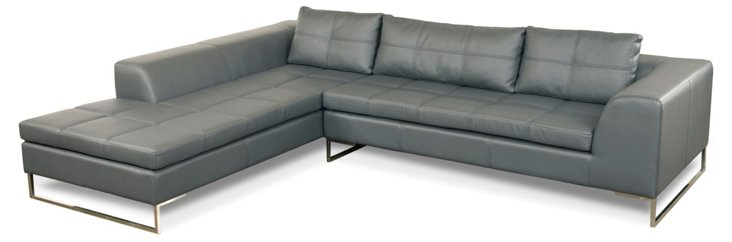 Gray Sulla Sectional, Left