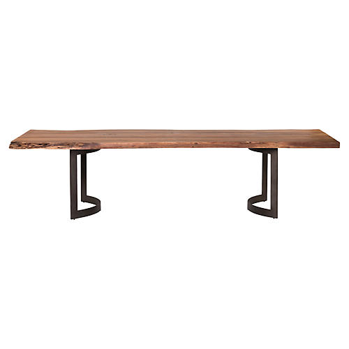 "Lorino 99"" Dining Table, Natural"