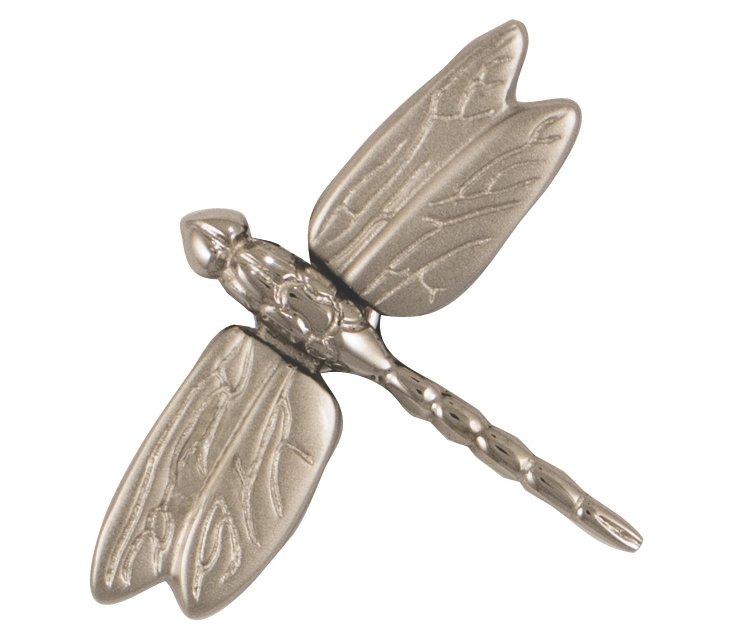 Dragonfly Doorbell Ringer, Nickel