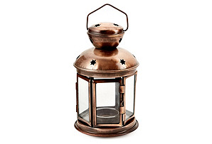 S/2 Colonial Lanterns, Copper