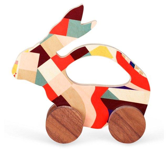 Paloma Bunny Push Toy