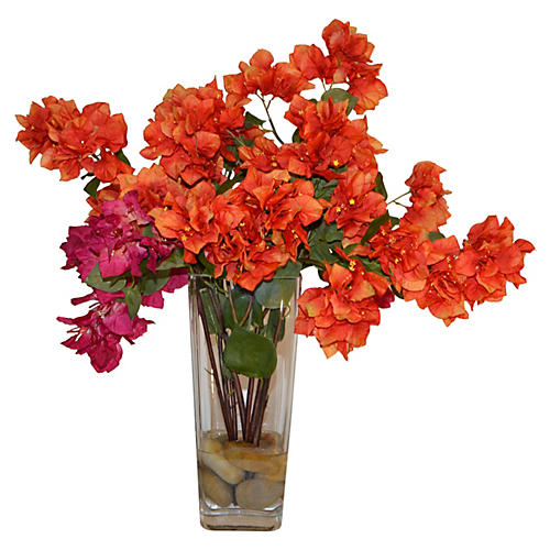"24"" Francesca Arrangement, Orange"