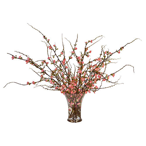 "32"" Cherry Blossom Arrangement, Faux"