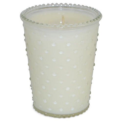 Hobnail Candle, Hydrangea