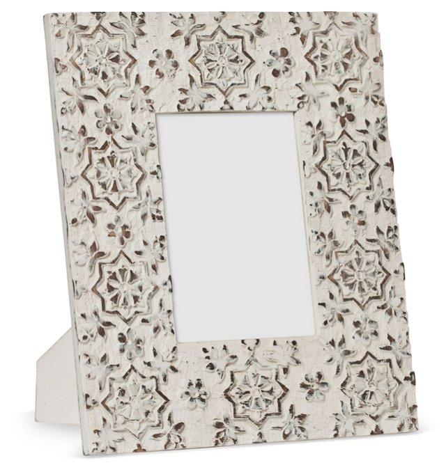 Wood Frame, 5x7, Whitewash