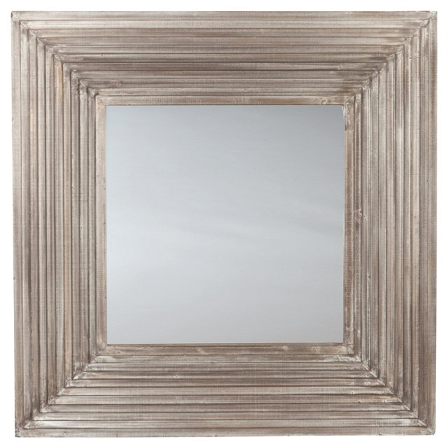 Carly Wall Mirror, Gray