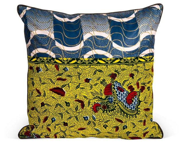 Namib Throw Pillow