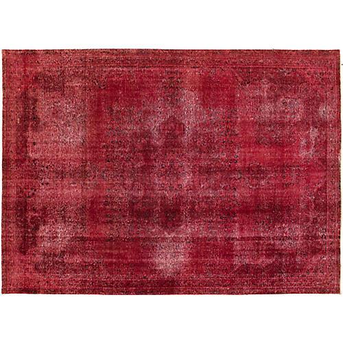 "7'11""x11' Kohinoor Rug, Red"