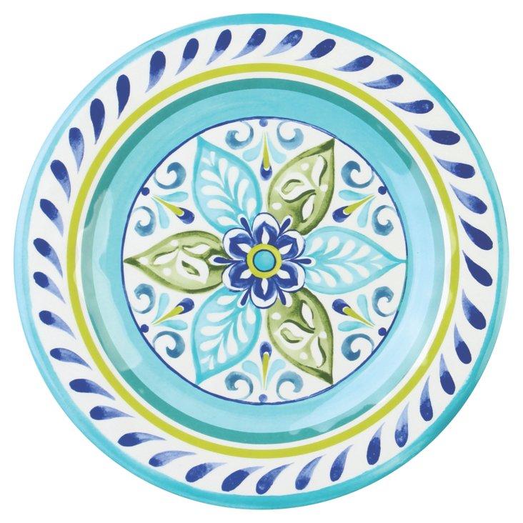 S/4 Melamine Oceanside Dinner Plates