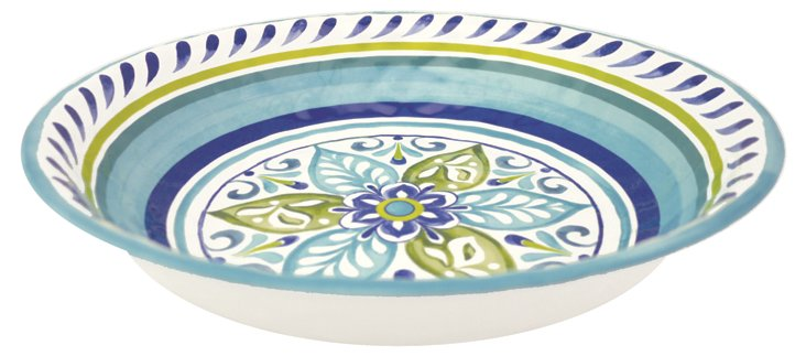Melamine Oceanside Serving Bowl