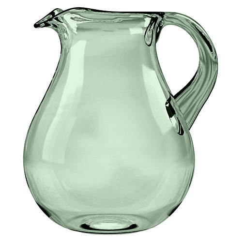 Cordoba Melamine Pitcher, Green