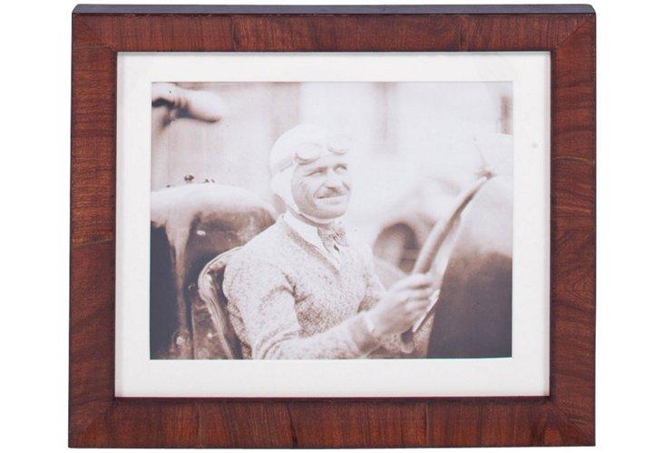 Man Driving Vintage Photograph
