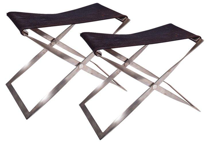 Roberta Schilling Sling Seats, Pair