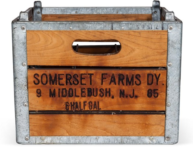 Somerset Farms Milk-Bottle Crate