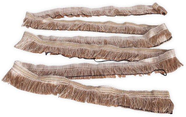 Vintage Silk Upholstery Fringe