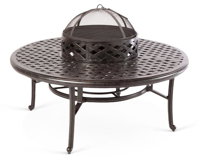 Weave Wood Burning Fire Pit
