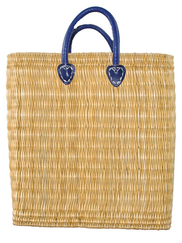 Tigmi Shopper Tote, Blue