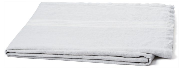 Maison Linen Throw, Gray