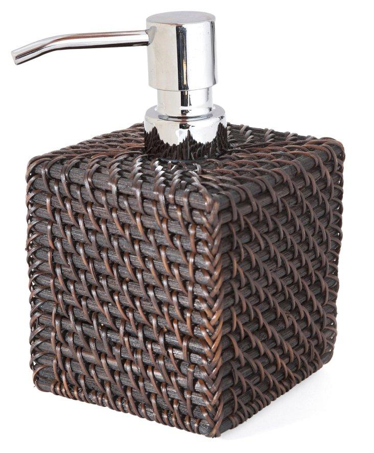 "3.5"" Soap Dispenser, Chocolate"