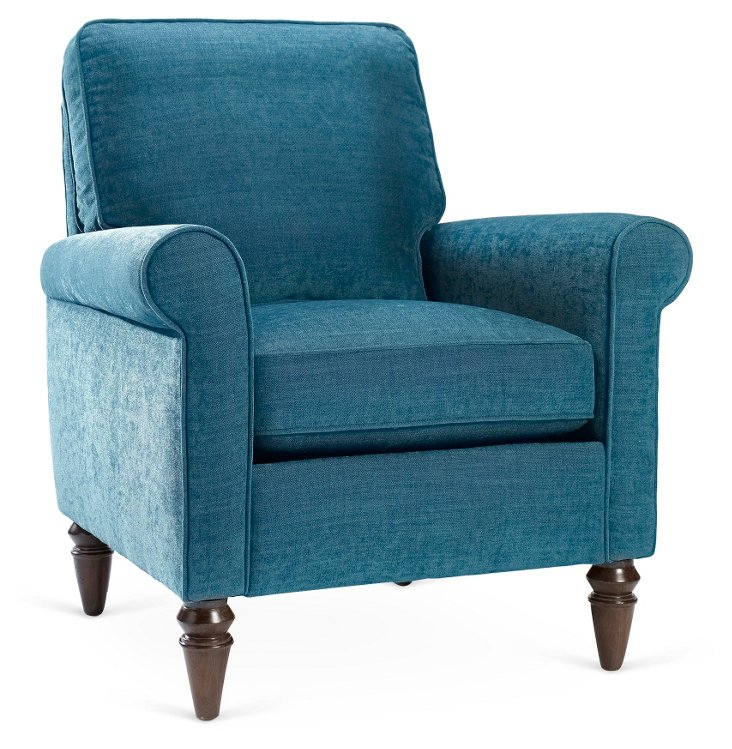 Lindsey Chair, Teal