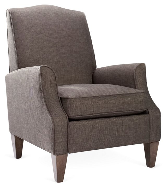 Savannah Club Chair, Gray