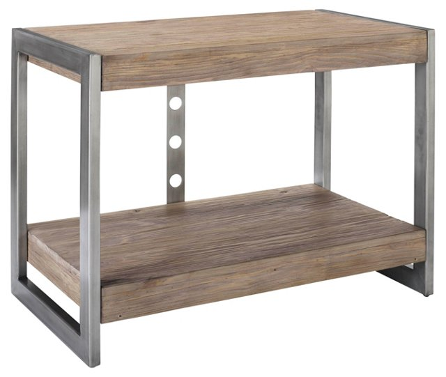 Jude Driftwood Console Table, Natural