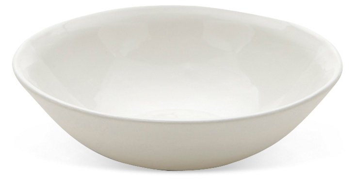 Small Flared Bowl, White
