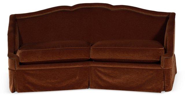 Angled Back Sofa