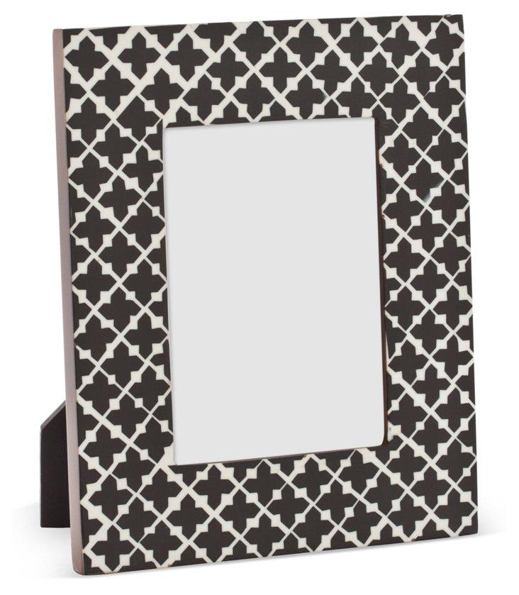 Pattern Frame, 5x7, Black/White