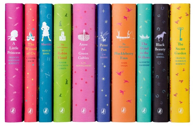 S/10 Puffin Classics for Young Readers