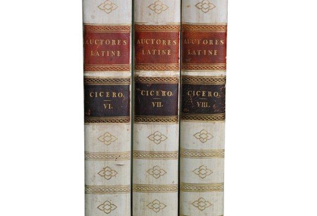 S/3 Vellum-Bound Philosophy Classics