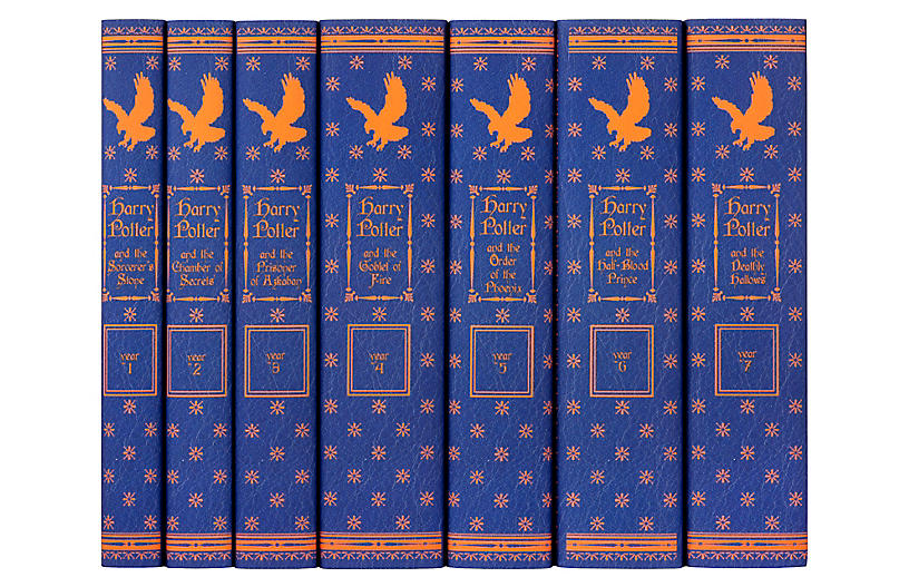 S/7 Harry Potter Ravenclaw Book Collection