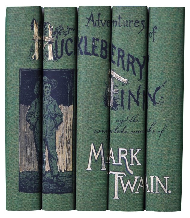 S/5 Mark Twain Book Set