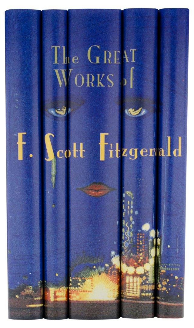 S/5 F. Scott Fitzgerald Books