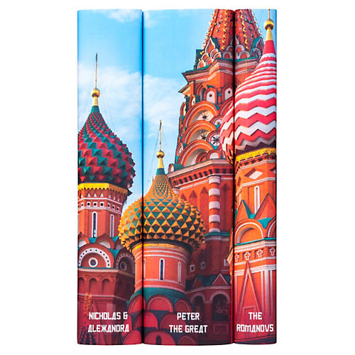 S/3 Romanov Books