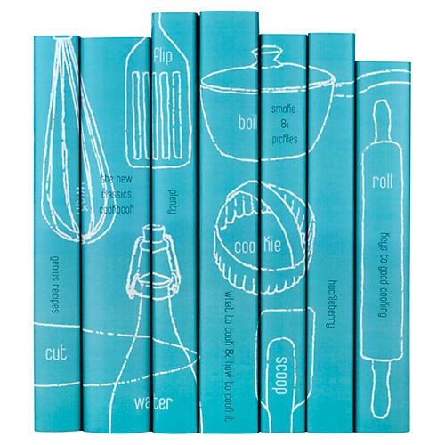 S/7 S/7 Contemporary Cookbook Set Books