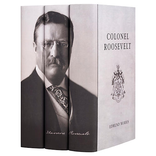 S/3 Theodore Roosevelt Book Collection