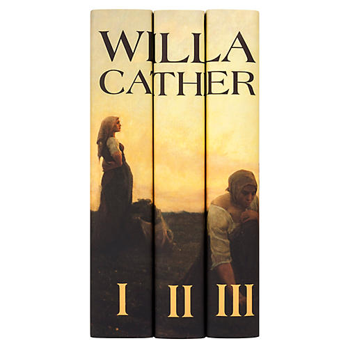 S/3 Willa Cather Book Set