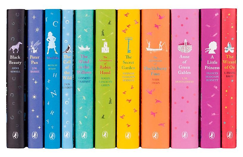 S/11 Puffin Classics Complete Book Set