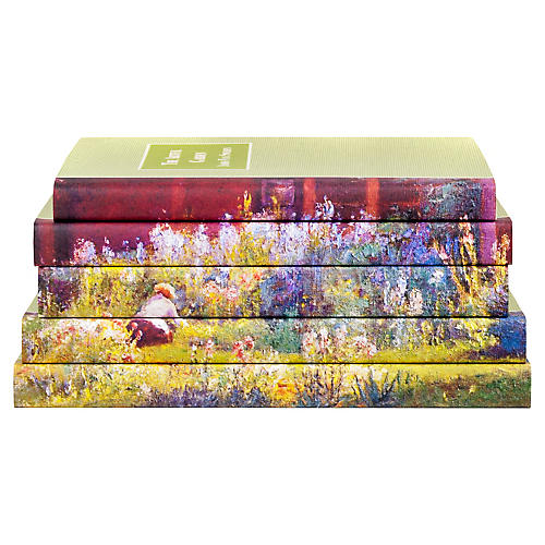 S/5 The Art of Gardening Book Set