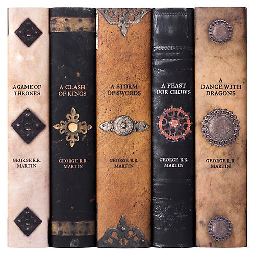 Asst. of 5 Game of Thrones Armor Book Set