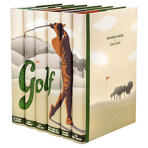 S/6 Golf Club Book Set