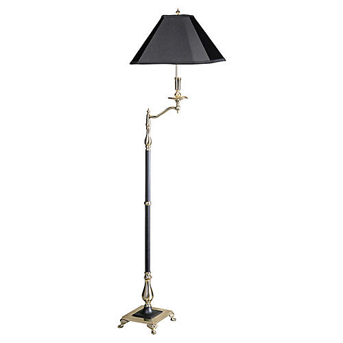 1926 Charlotte II Floor Lamp, Black