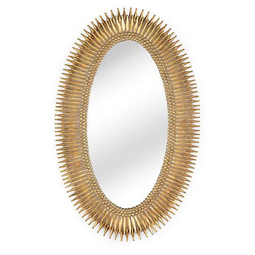 Lucius Oversize Mirror Antiqued Gold