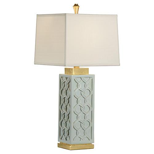 Barron Table Lamp, Mint
