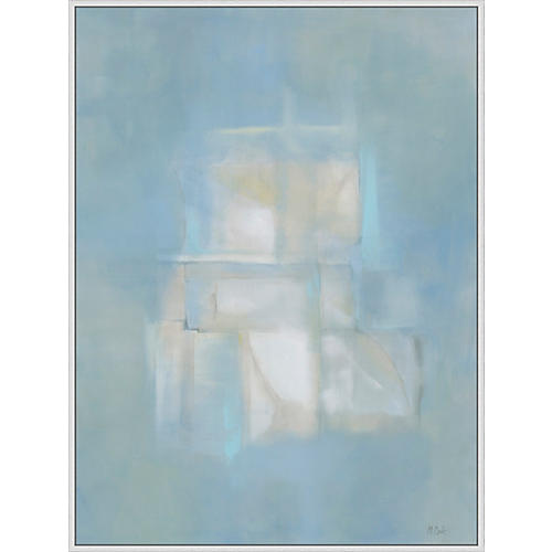 Lillian August, Blue Abstract