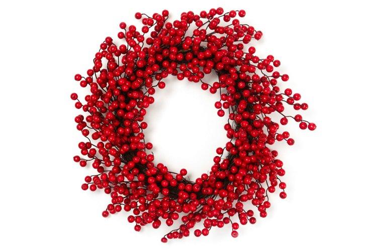 """22"""" Gooseberry Wreath"""