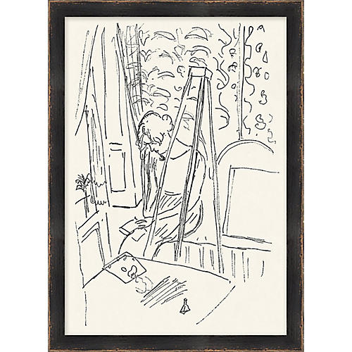Matisse Woman Reading